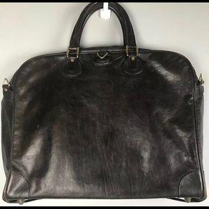 RARE Goyard Porte-Habits All Leather Garment Bag